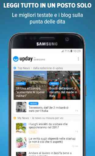 upday news for Samsung 1
