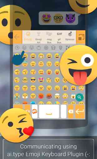 ai. type Emoji Keyboard plugin (Android) image 2