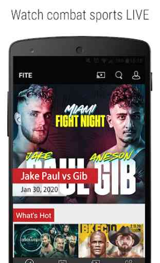 FITE - Boxing, Wrestling, MMA & More 1