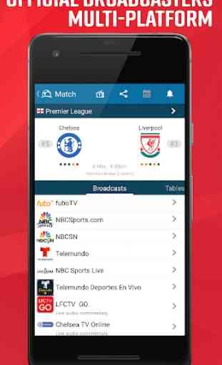 Guida Calcio in TV e risultati 2