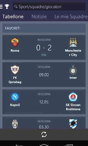 MSN Sport - Risultati 1