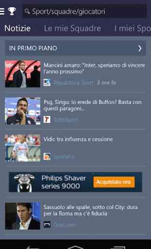 MSN Sport - Risultati 2