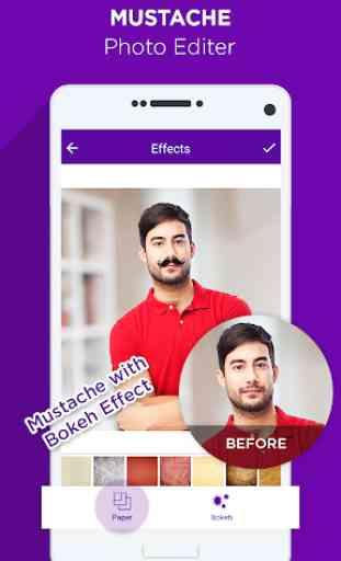 Mustache Photo Editor 3