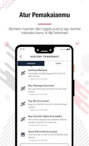 MyTelkomsel - Cek Kuota, Beli Paket & Tukar POIN 2