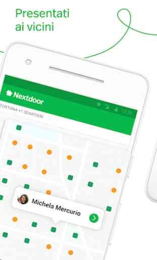 Nextdoor. La app del tuo quartiere. 1