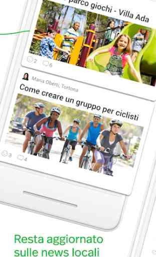 Nextdoor. La app del tuo quartiere. 2