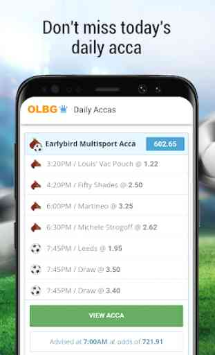 OLBG Sports Betting Tips – Football, Racing & more 1