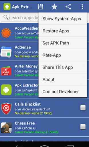 APK Extractor•APP Share/Backup 3
