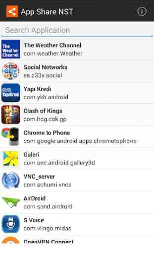 App Share NST 1