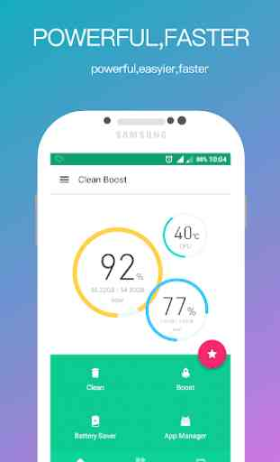 Clean Boost-Junk Cleaner,Memory Booster,App Lock 1