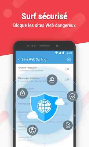 Dr. Safety: sicurezza elevata, antivirus gratuito 2