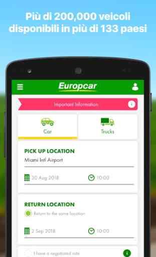 Europcar - Noleggio Auto & Furgoni 1