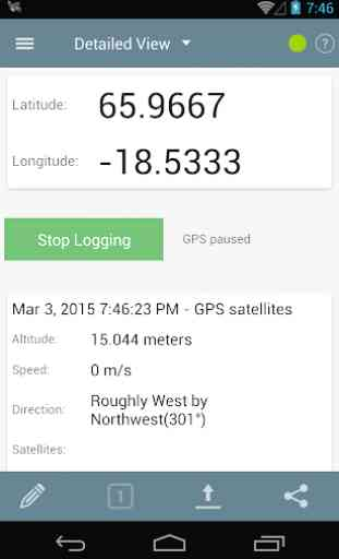 Logger GPS per Android 3