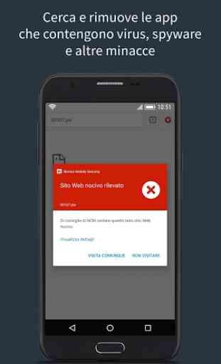 Norton Mobile Security con antivirus 1