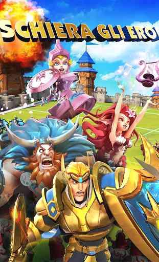 Lords Mobile: Guerra del Regno - Battaglia MMO RPG 4