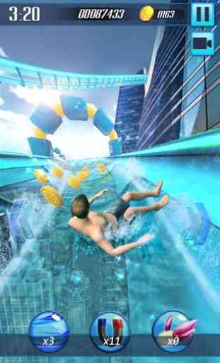 Scivolo d'acqua 3D 1