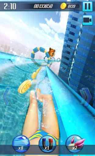 Scivolo d'acqua 3D 2