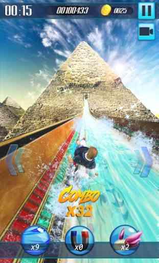 Scivolo d'acqua 3D 3