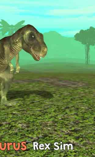 Tyrannosaurus Rex Sim 3D 1