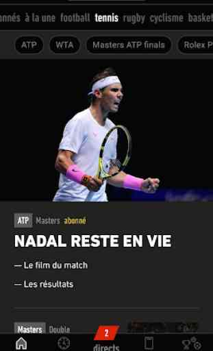 L'Équipe - Sport en direct : foot, tennis, rugby.. 1