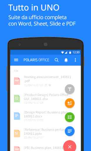 Polaris Office for LG Device 1