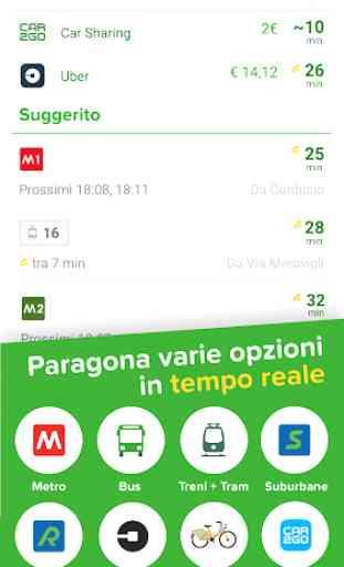Citymapper - Tutti i trasporti a Roma e Milano 3