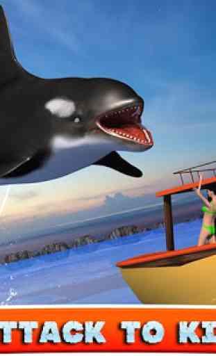 Killer Whale Beach Attack 3D 3