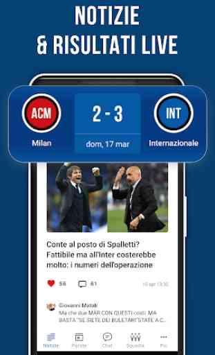 Nerazzurri Live – App non ufficiale di calcio 2