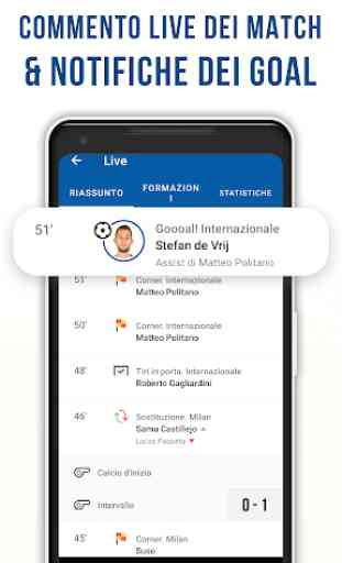 Nerazzurri Live – App non ufficiale di calcio 3