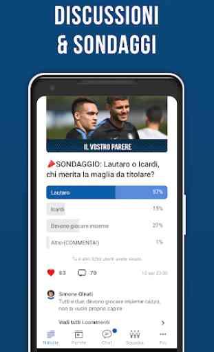 Nerazzurri Live – App non ufficiale di calcio 4