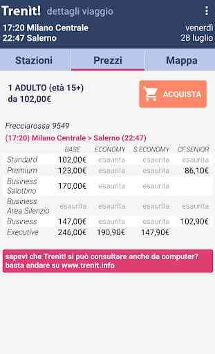 Orari Treni + Ritardi + Offerte AltaVelocità 4