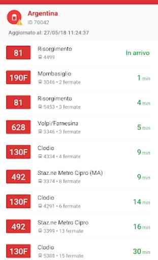 Probus Roma AutoBus|Orari|Atac 1