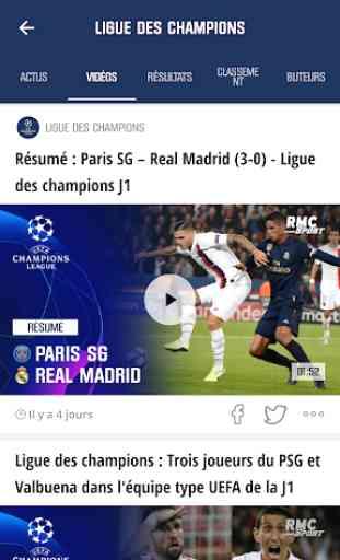 RMC Sport News - Actu Foot et Sports en direct 3