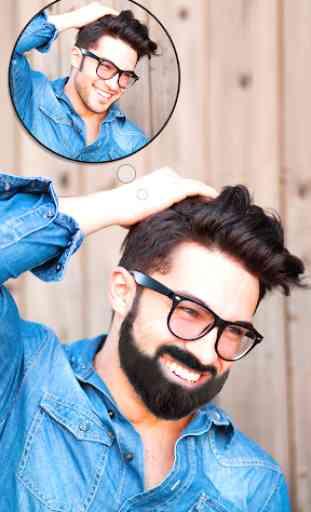 Man Hair Mustache Style  PRO : Boy Photo Editor 1