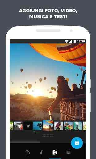 Quik - Video Editor GoPro per le foto con musica 1