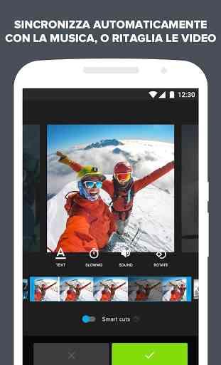 Quik - Video Editor GoPro per le foto con musica 2