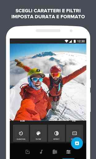 Quik - Video Editor GoPro per le foto con musica 3