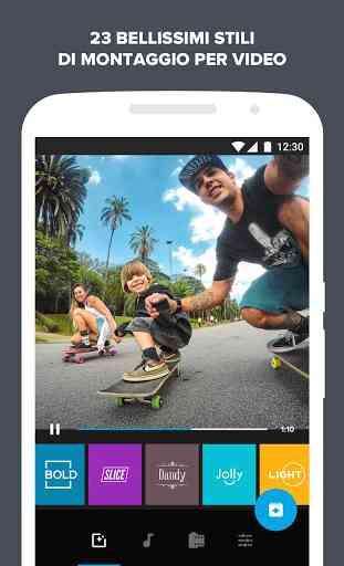 Quik - Video Editor GoPro per le foto con musica 4