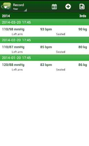 Blood Pressure Tracker 2