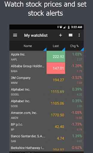 JStock - Stock Market, Watchlist, Portfolio & News 1