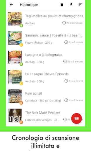 Open Food Facts - Scansione per decifrare il cibo 4