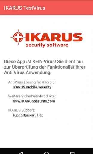IKARUS TestVirus 1