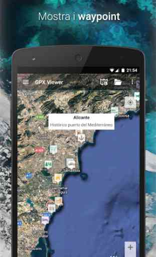 GPX Viewer - Tracce, Rotte e Waypoint 4