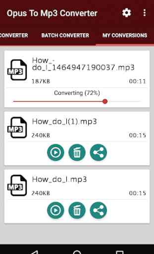 Opus To Mp3 Converter 4