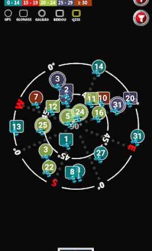 Satellite Check - Stato GPS e navigazione 2