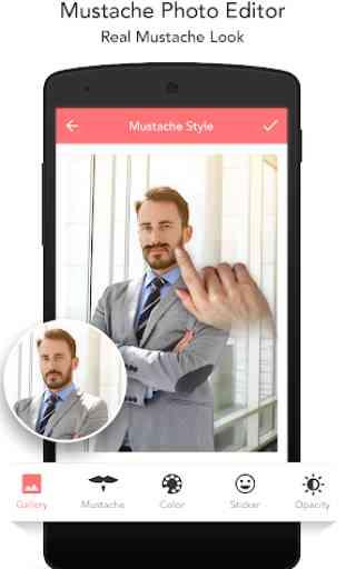 Mustache Photo Editor 2