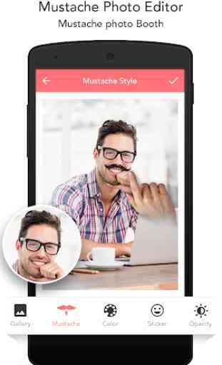 Mustache Photo Editor 4