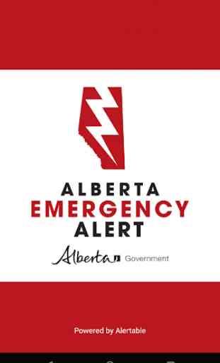 Alberta Emergency Alert 1