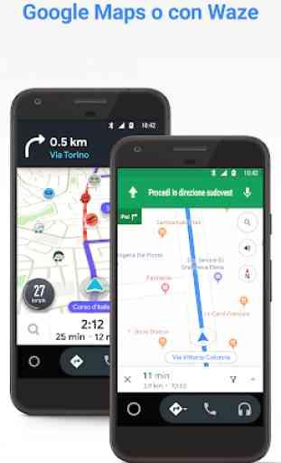 Android Auto: Google Maps, media e chiamate 3