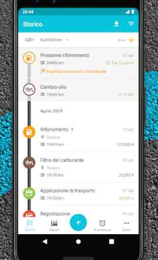 Drivvo - Gestione veicoli, App per automobilisti 2